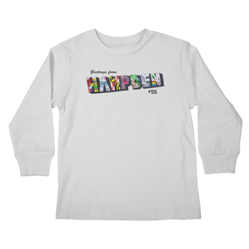Hampden 55 Kids Longsleeve T-Shirt by FOH55