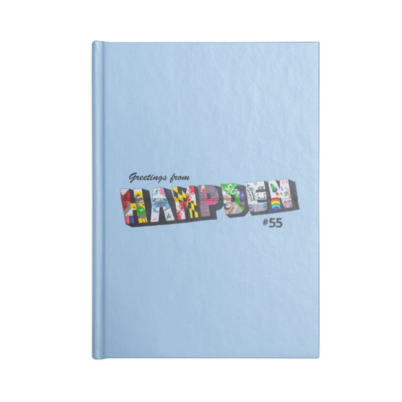 Hampden 55 Accessories Lined Journal Notebook by FOH55