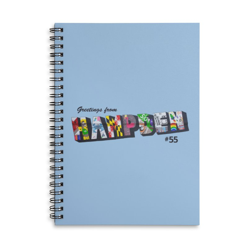 Hampden 55 Accessories Lined Spiral Notebook by FOH55