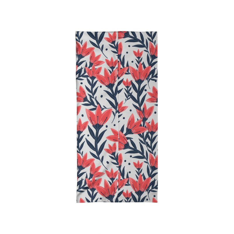 Pink Bloom Accessories Neck Gaiter by Mitalim's Artist Shop
