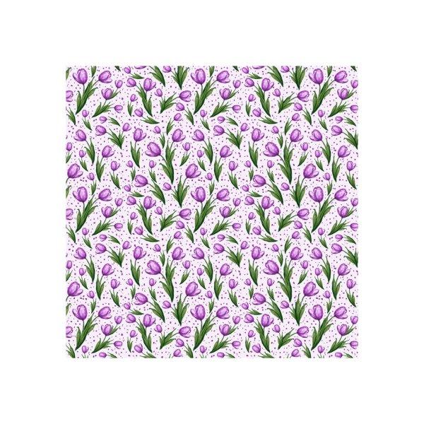 Design for Purple Tulips