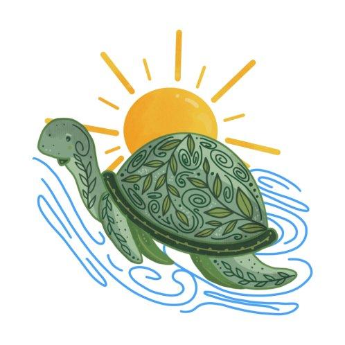 Design for Cute Sea Turtle