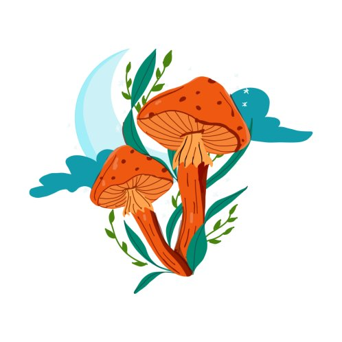Design for Magic Mushroom