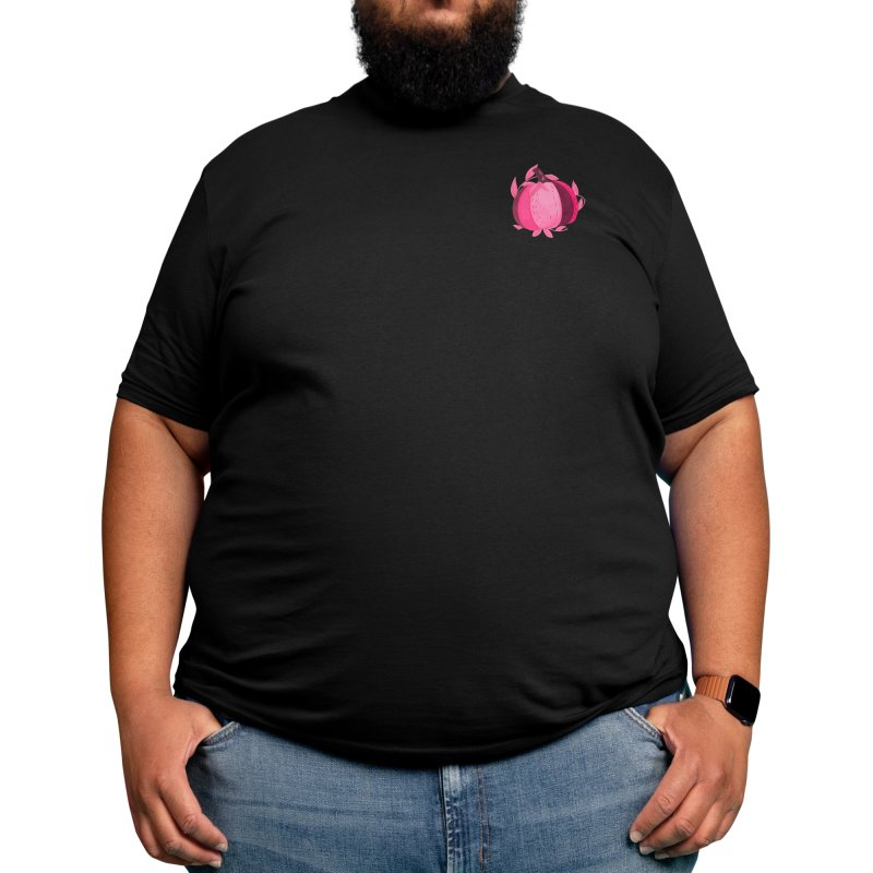 Pink Pumpkins Men's T-Shirt by Mitalim's Artist Shop