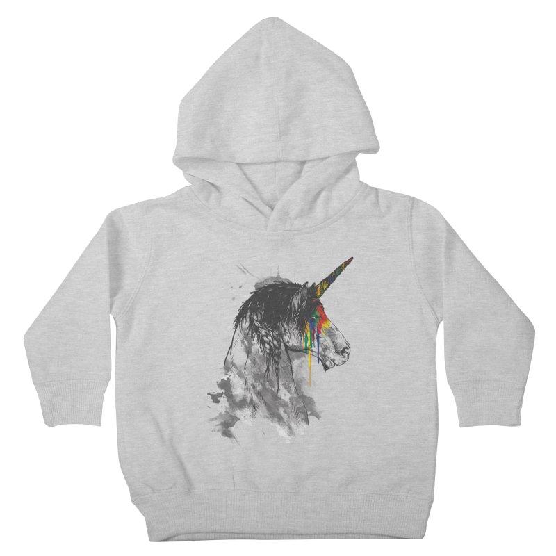 Braided Unicorn Kids Toddler Pullover Hoody by mitchdosdos's Shop