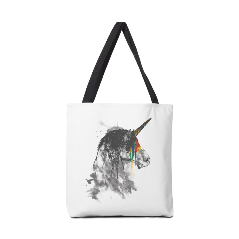 Braided Unicorn Accessories Bag by mitchdosdos's Shop