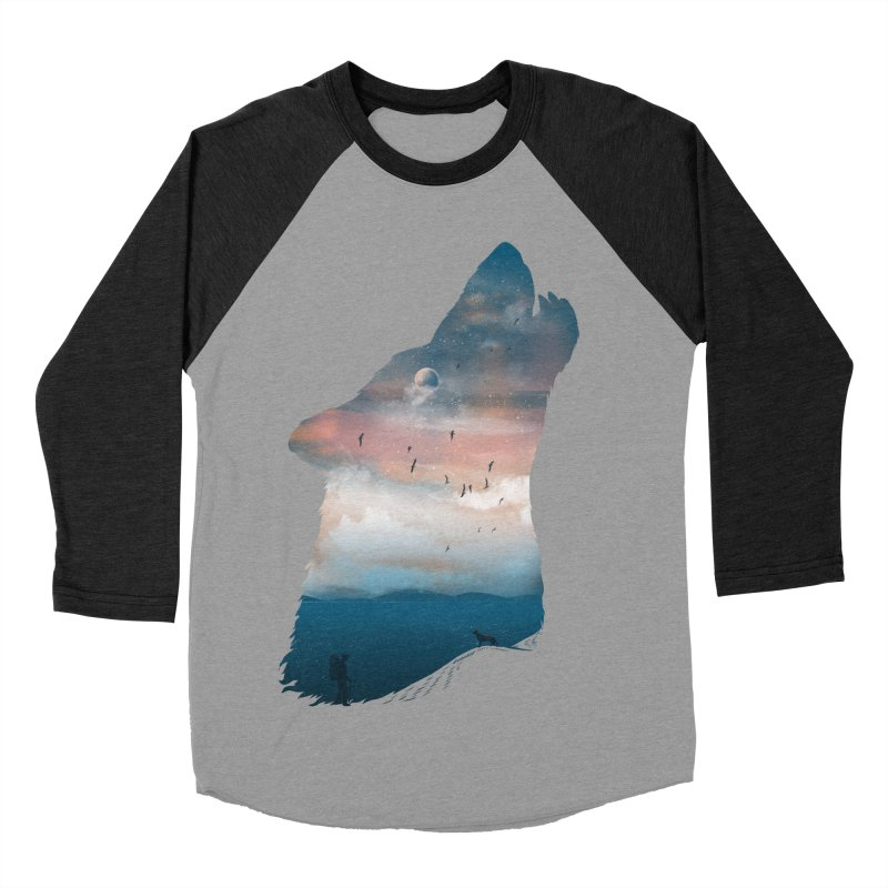 The Guardian Women's Baseball Triblend T-Shirt by mitchdosdos's Shop