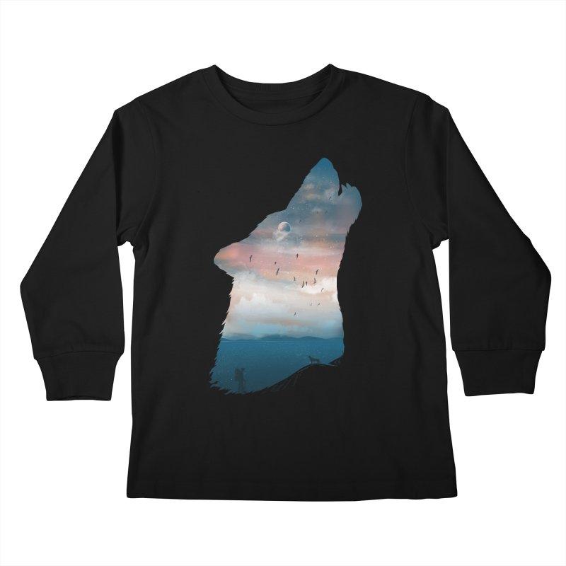 The Guardian Kids Longsleeve T-Shirt by mitchdosdos's Shop