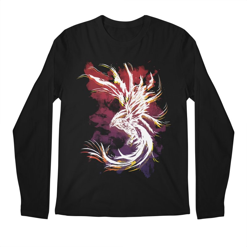 Phoenix Men's Longsleeve T-Shirt by mitchdosdos's Shop