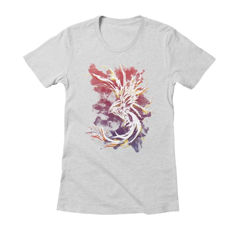Phoenix Women's Fitted T-Shirt by mitchdosdos's Shop