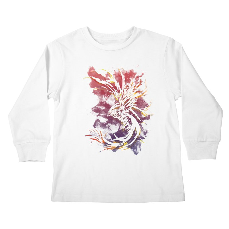 Phoenix Kids Longsleeve T-Shirt by mitchdosdos's Shop