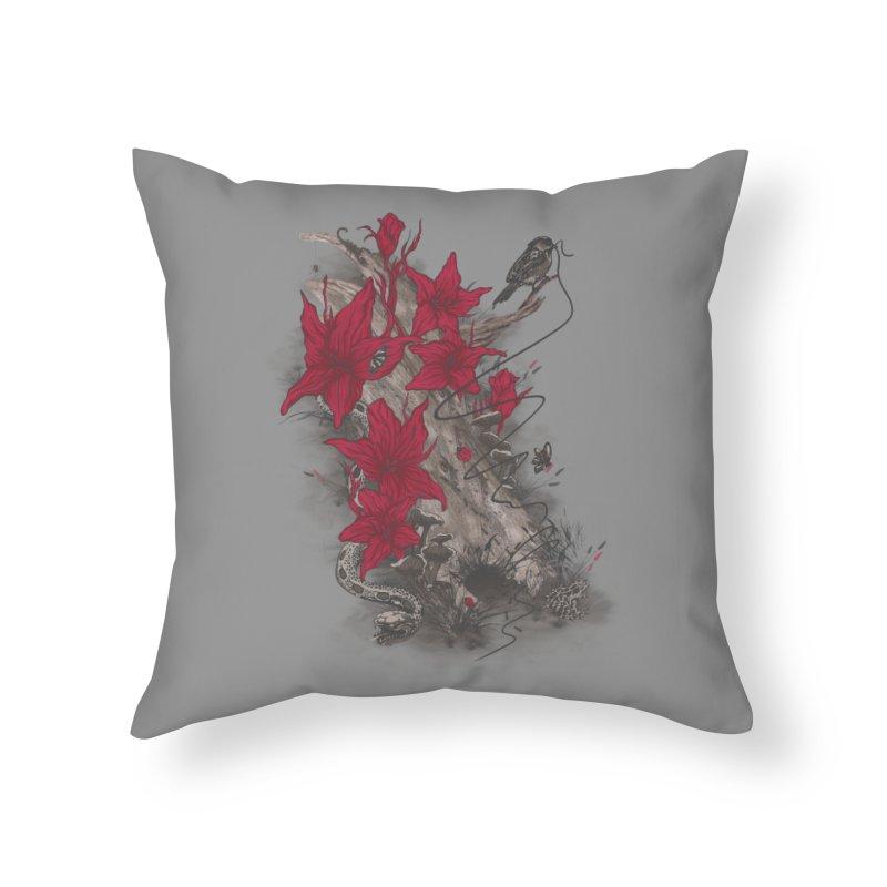 Habitat Home Throw Pillow by mitchdosdos's Shop