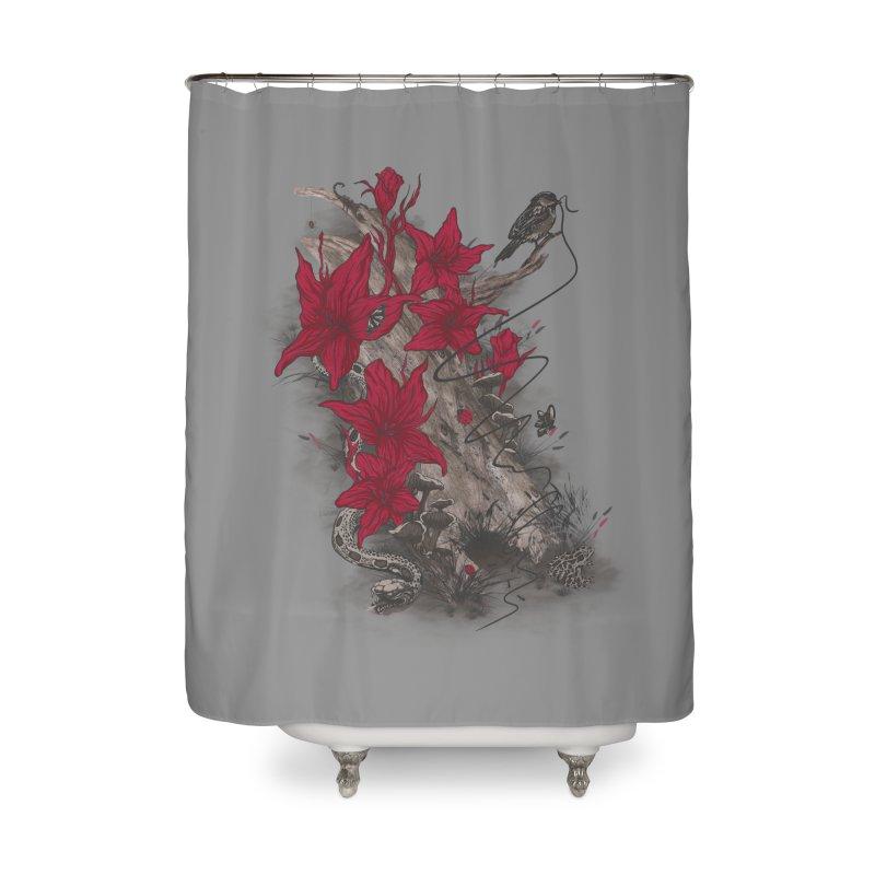 Habitat Home Shower Curtain by mitchdosdos's Shop