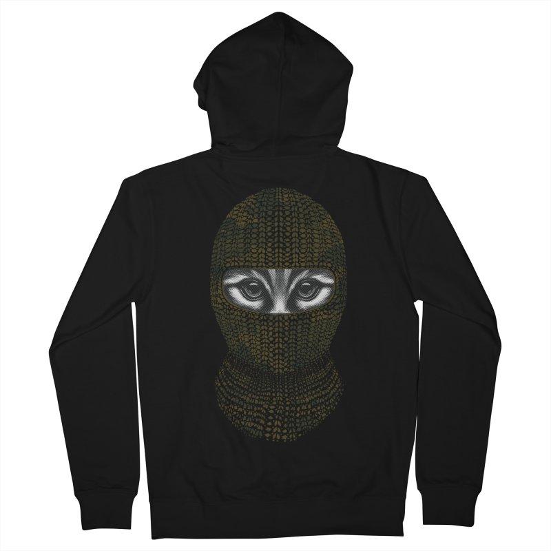 9 Lives Ninja Men's Zip-Up Hoody by mitchdosdos's Shop