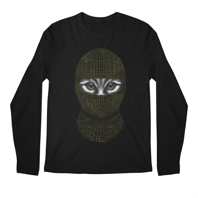 9 Lives Ninja Men's Longsleeve T-Shirt by mitchdosdos's Shop