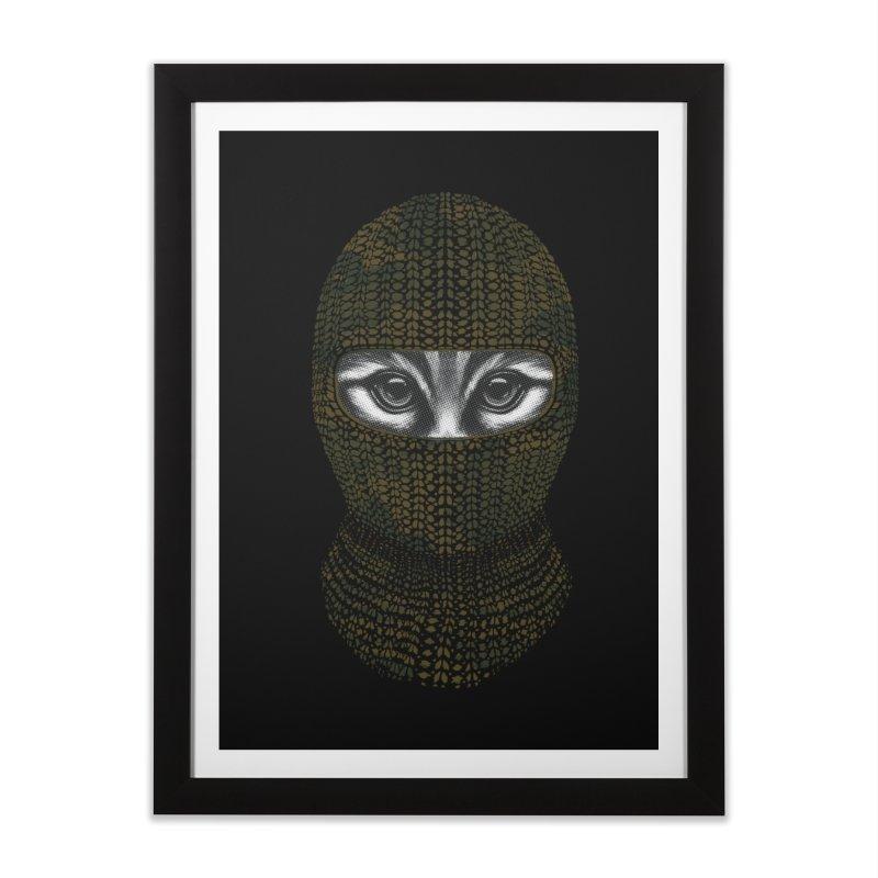 9 Lives Ninja Home Framed Fine Art Print by mitchdosdos's Shop