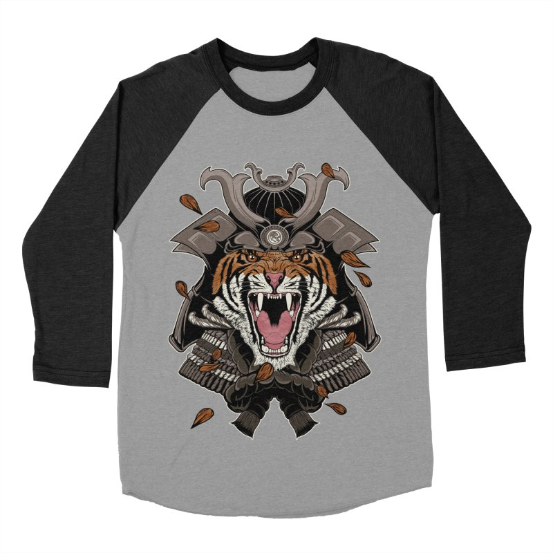 Raging Samurai Women's Baseball Triblend T-Shirt by mitchdosdos's Shop
