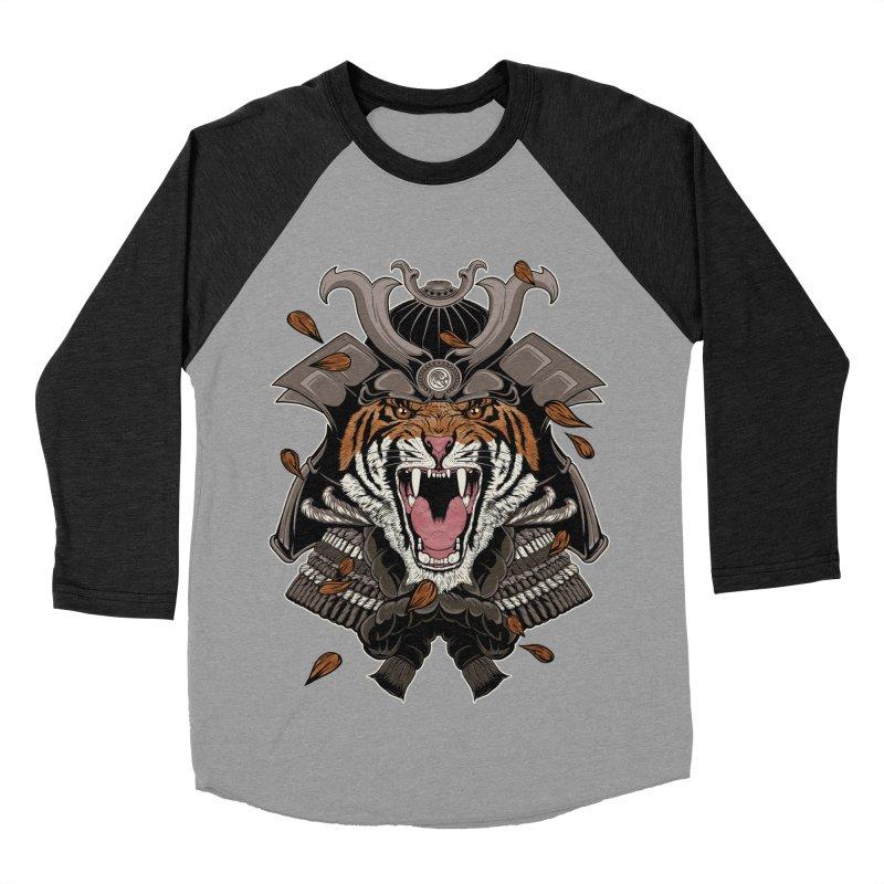 Raging Samurai Men's Baseball Triblend T-Shirt by mitchdosdos's Shop