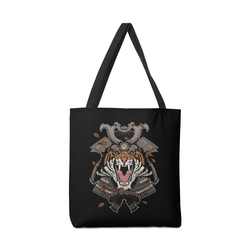Raging Samurai Accessories Bag by mitchdosdos's Shop