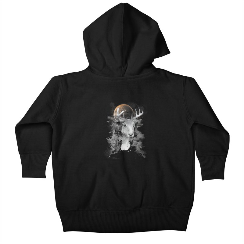 Wild Mona Lisa Kids Baby Zip-Up Hoody by mitchdosdos's Shop