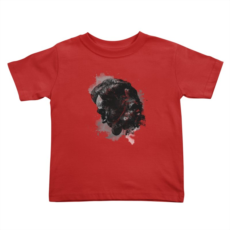 Lincoln Kids Toddler T-Shirt by mitchdosdos's Shop