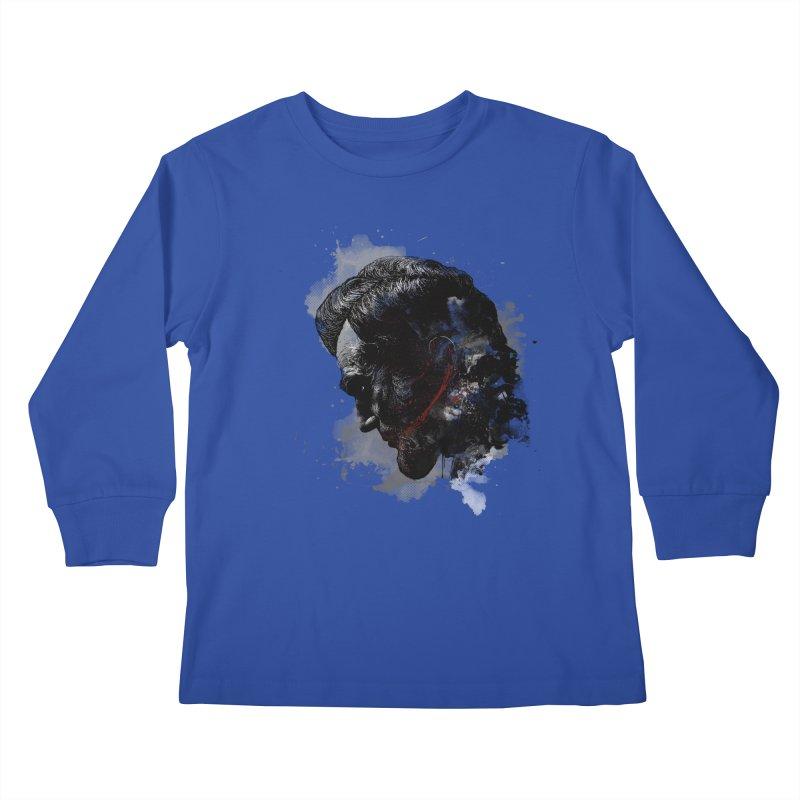 Lincoln Kids Longsleeve T-Shirt by mitchdosdos's Shop