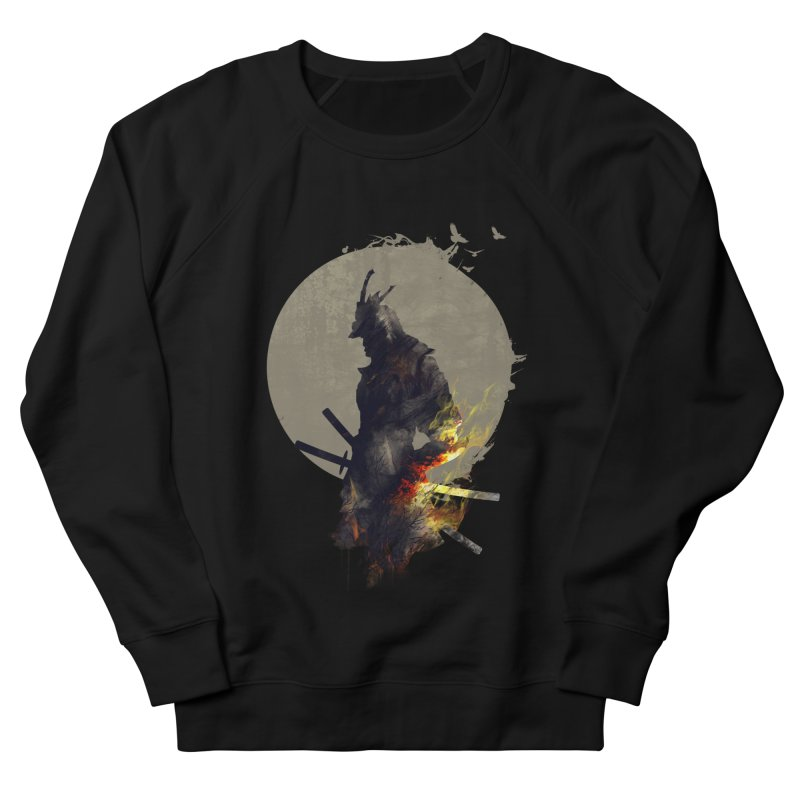 Blazing Samurai Men's Sweatshirt by mitchdosdos's Shop