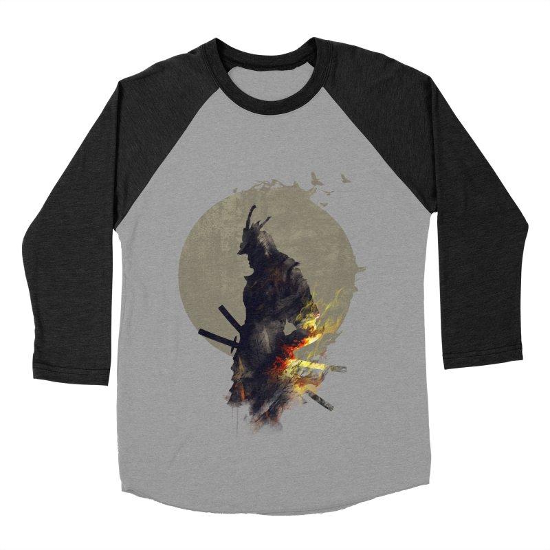 Blazing Samurai Women's Baseball Triblend T-Shirt by mitchdosdos's Shop