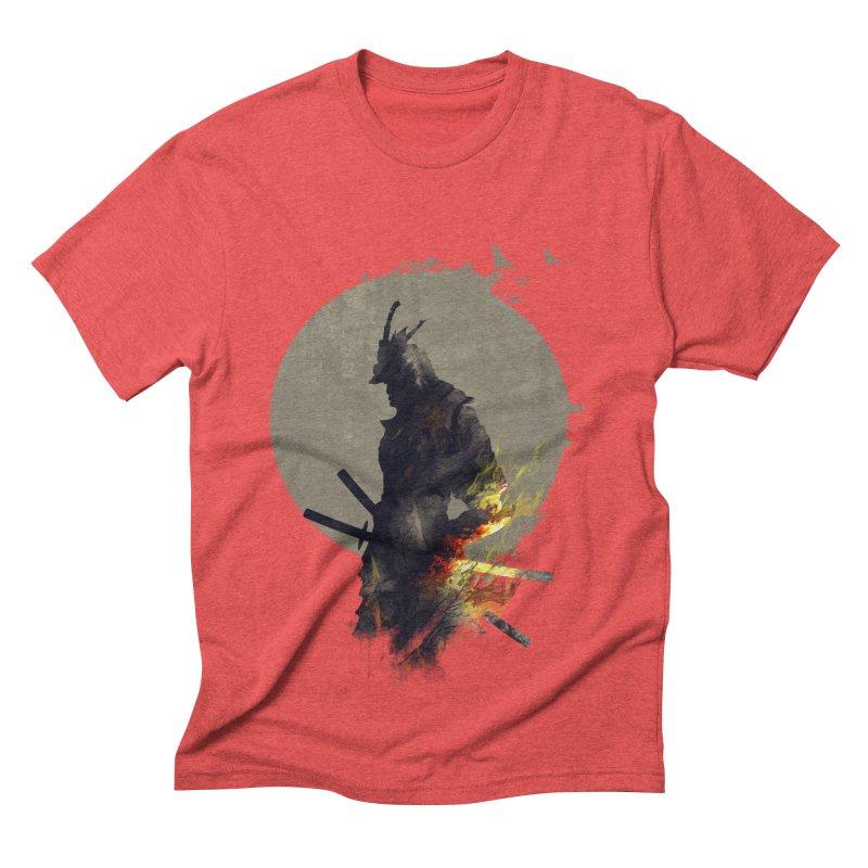 Blazing Samurai Men's Triblend T-shirt by mitchdosdos's Shop