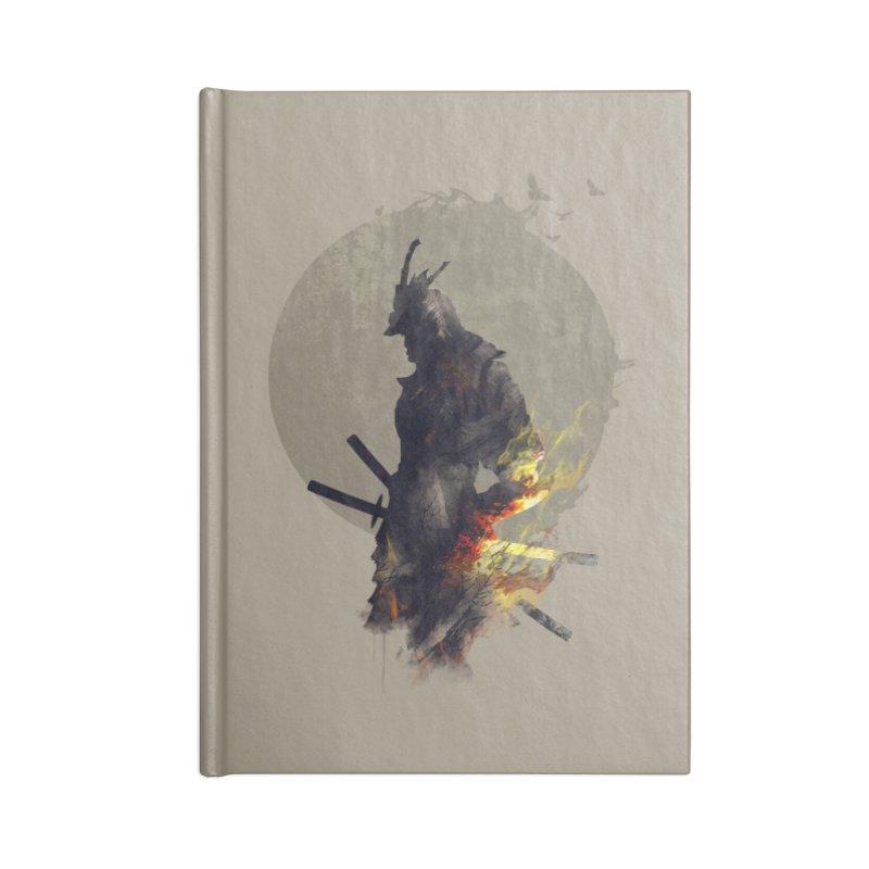 Blazing Samurai Accessories Notebook by mitchdosdos's Shop
