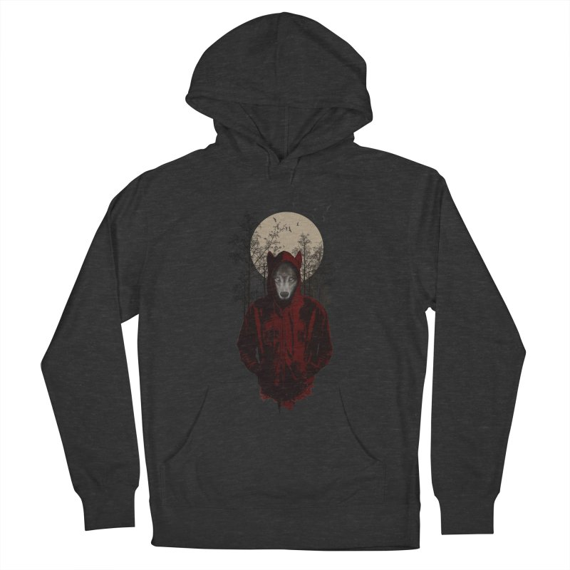 Red Hood Women's Pullover Hoody by mitchdosdos's Shop