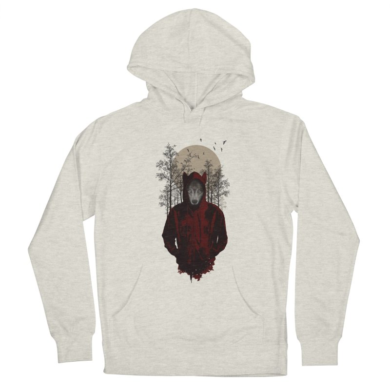 Red Hood Men's Pullover Hoody by mitchdosdos's Shop