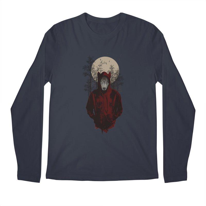 Red Hood Men's Longsleeve T-Shirt by mitchdosdos's Shop