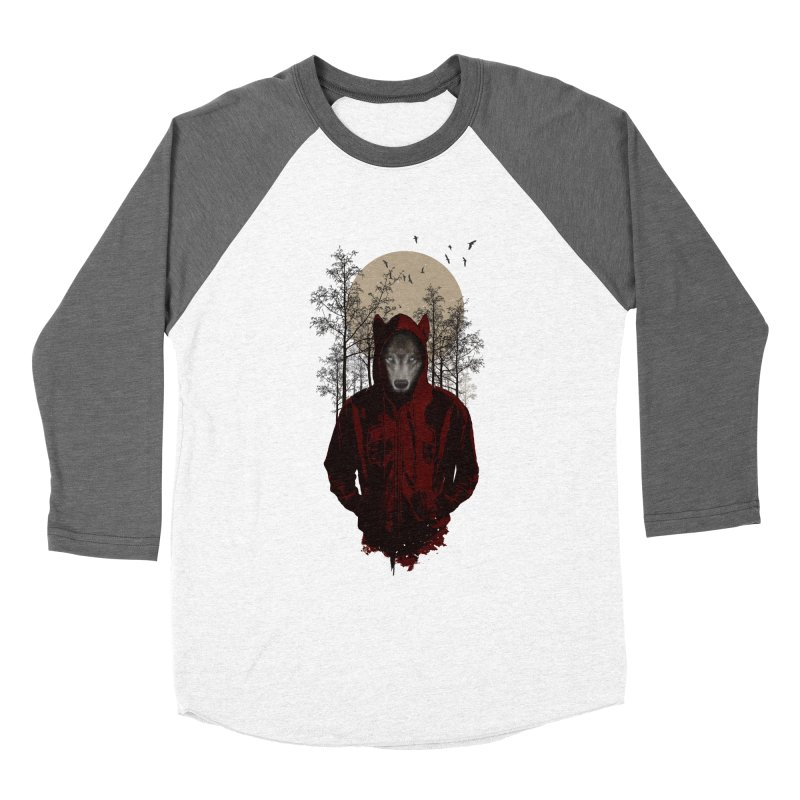Red Hood Women's Baseball Triblend T-Shirt by mitchdosdos's Shop