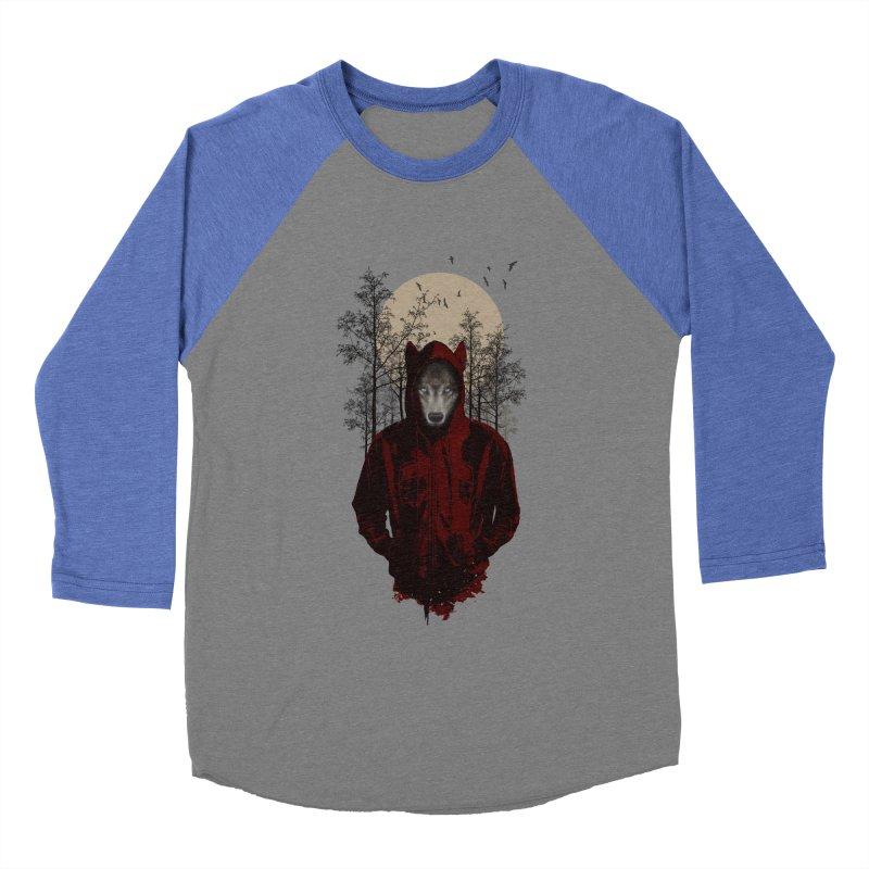 Red Hood Men's Baseball Triblend T-Shirt by mitchdosdos's Shop