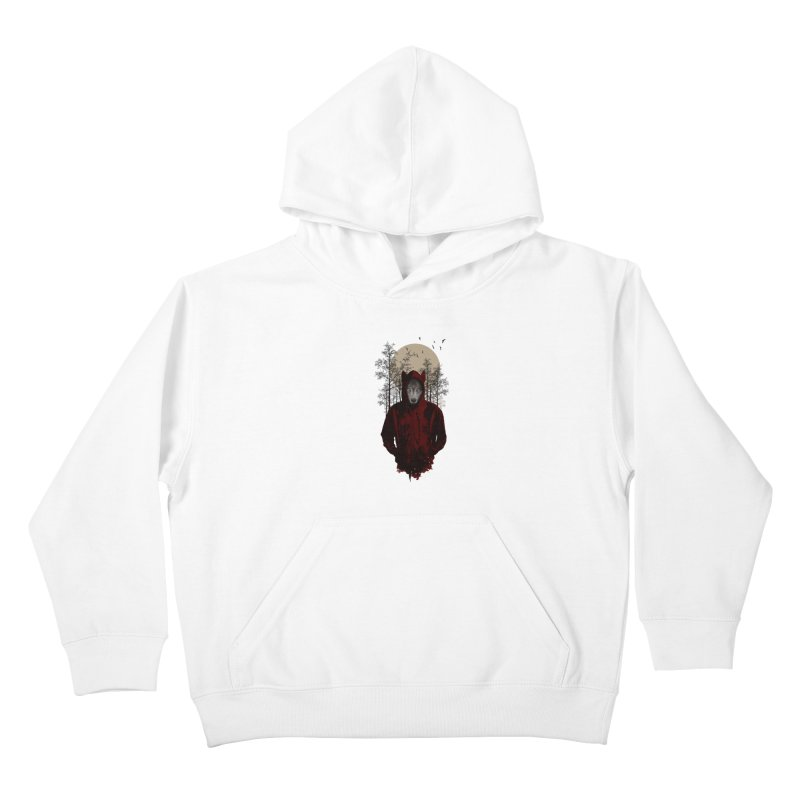Red Hood Kids Pullover Hoody by mitchdosdos's Shop