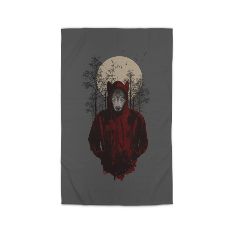 Red Hood Home Rug by mitchdosdos's Shop
