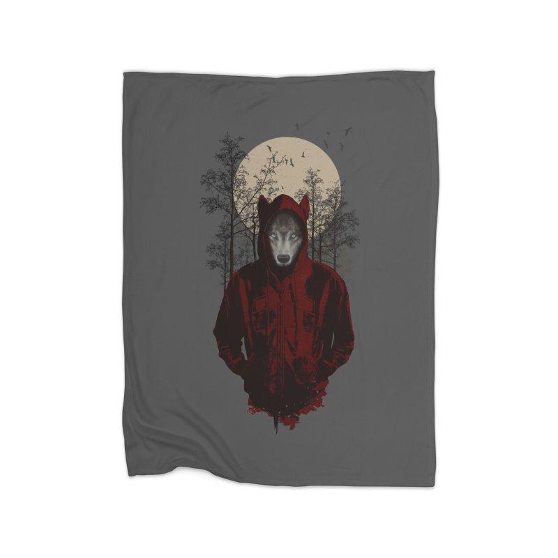 Red Hood Home Blanket by mitchdosdos's Shop