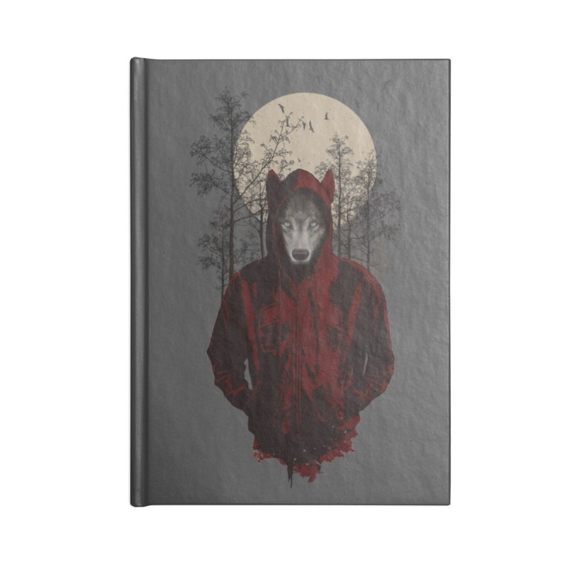 Red Hood Accessories Notebook by mitchdosdos's Shop