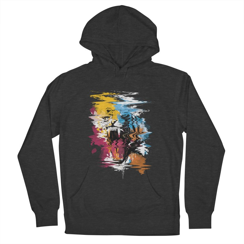 Raging Tiger Glitch Women's Pullover Hoody by mitchdosdos's Shop
