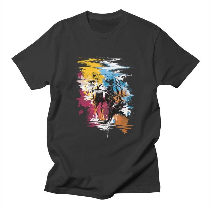 Raging Tiger Glitch Women's Unisex T-Shirt by mitchdosdos's Shop