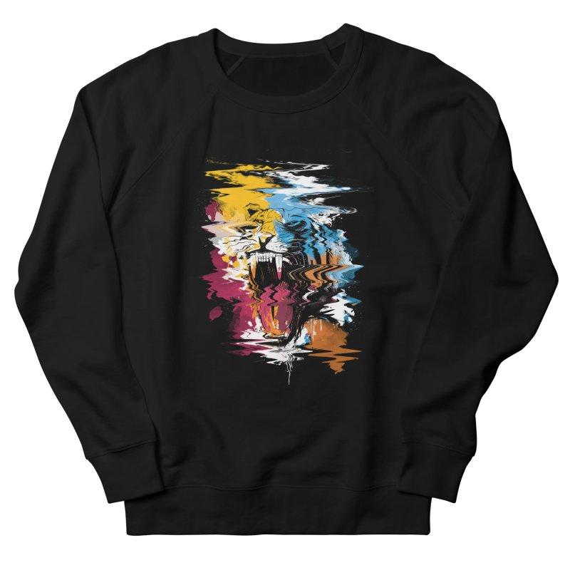 Raging Tiger Glitch Women's Sweatshirt by mitchdosdos's Shop