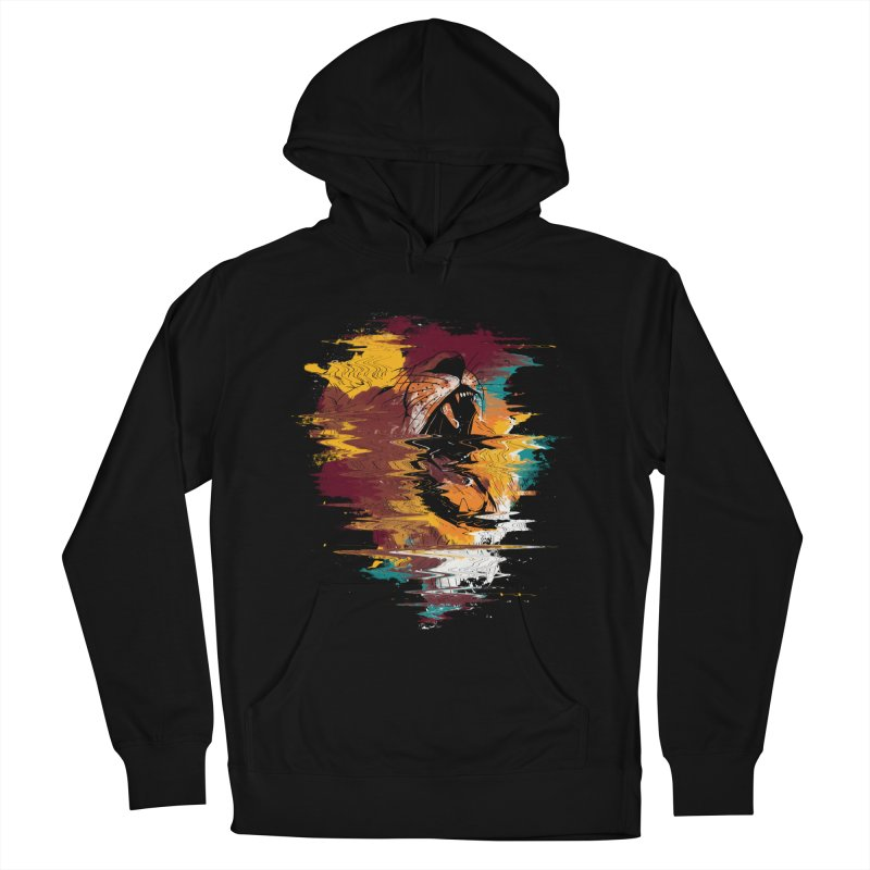 Raging Lion Glitch Women's Pullover Hoody by mitchdosdos's Shop