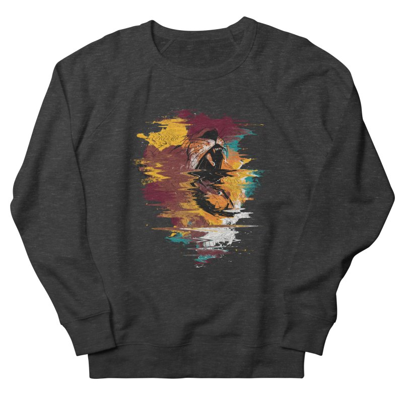 Raging Lion Glitch Women's Sweatshirt by mitchdosdos's Shop