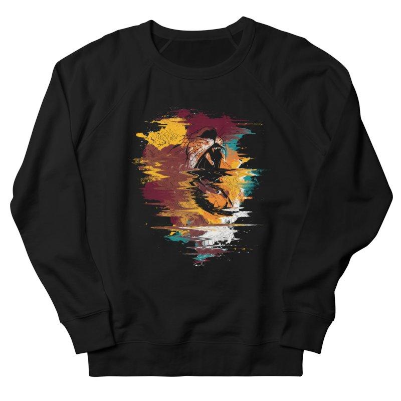 Raging Lion Glitch Men's Sweatshirt by mitchdosdos's Shop