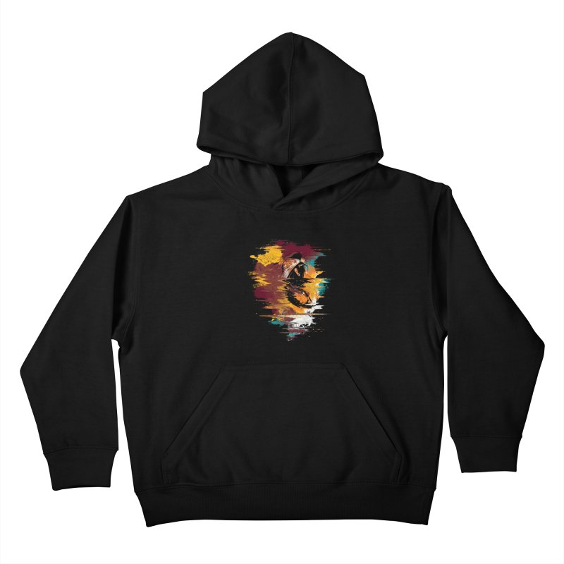Raging Lion Glitch Kids Pullover Hoody by mitchdosdos's Shop