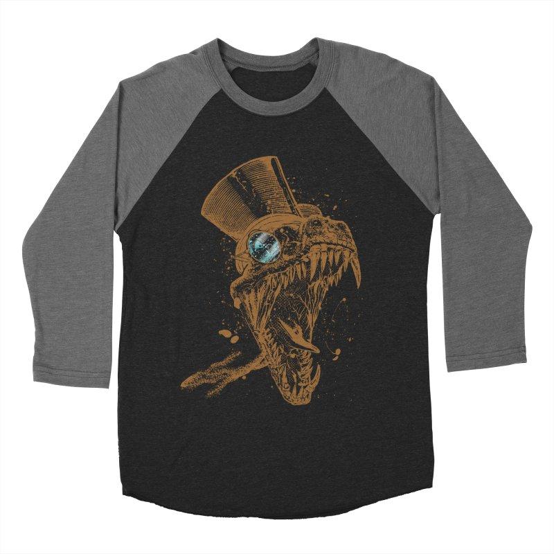 Dino Men's Baseball Triblend T-Shirt by mitchdosdos's Shop