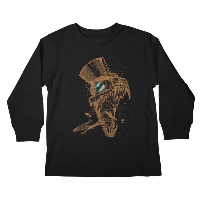 Dino Kids Longsleeve T-Shirt by mitchdosdos's Shop