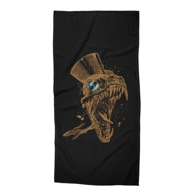 Dino Accessories Beach Towel by mitchdosdos's Shop