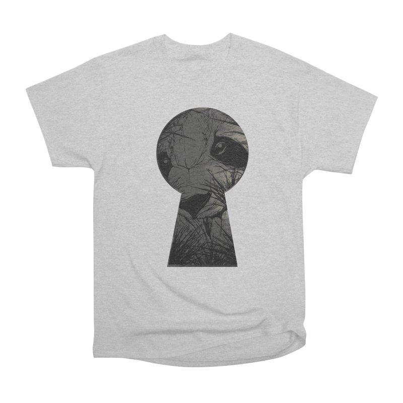 Peeping Panda Men's Classic T-Shirt by mitchdosdos's Shop